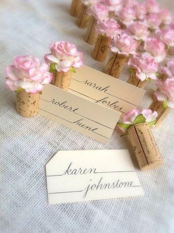 Segnaposto Matrimonio Pinterest.Ricevimento Matrimonio Ecco Cosa Vi Serve