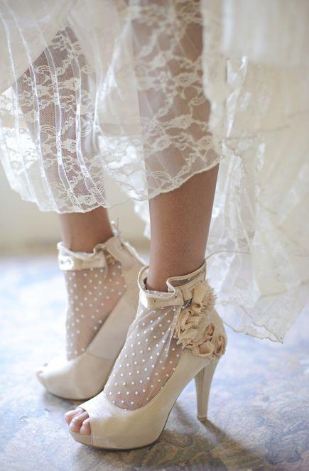 scarpe pois