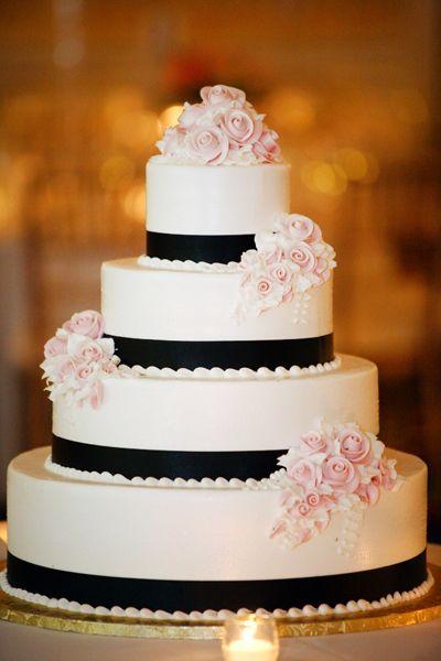 torta rosa nero