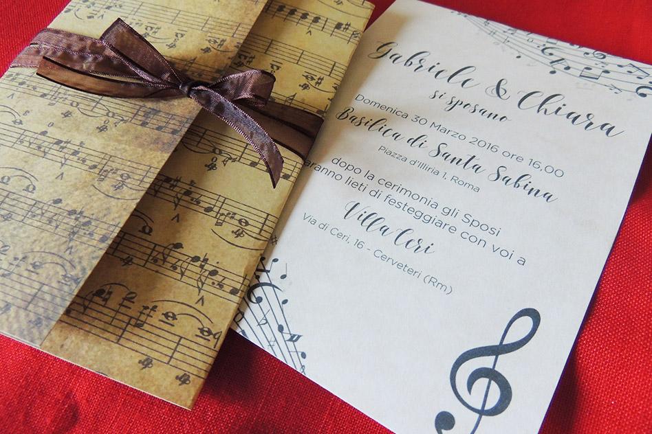 Partecipazioni Matrimonio Rock.Matrimonio Tema Musica Ispirazioni E Idee Originali
