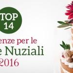 tendenze torte nuziali 2016
