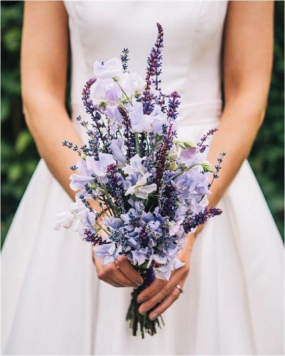 bouquet lavanda matrimonio