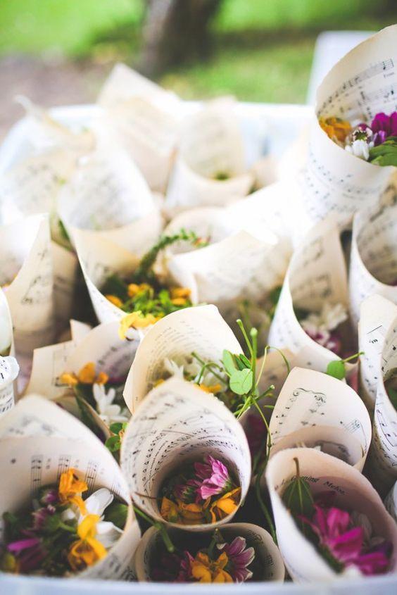 coni fiori