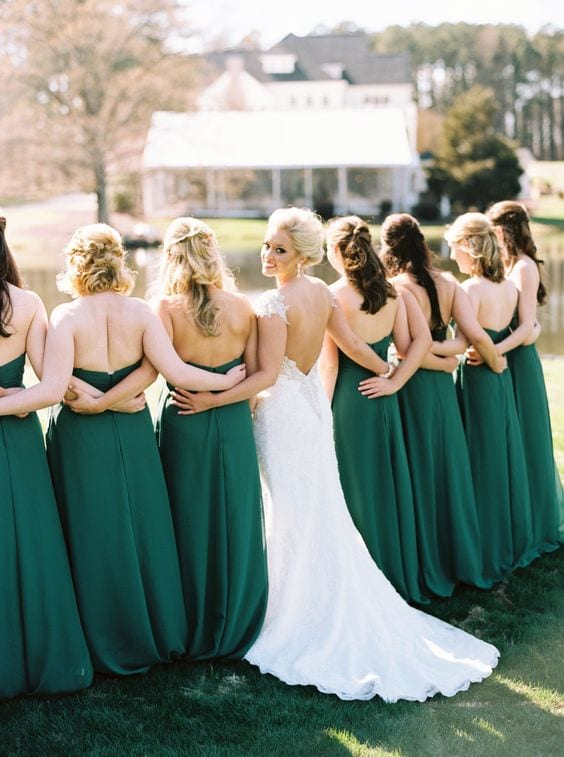 matrimonio verde smeraldo