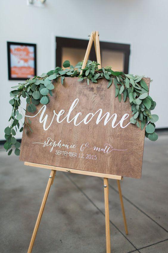 cartello benvenuto
