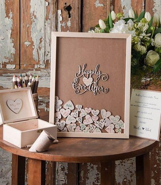 Segnaposto Matrimonio In Legno : Idee per usare il legno nel vostro matrimonio