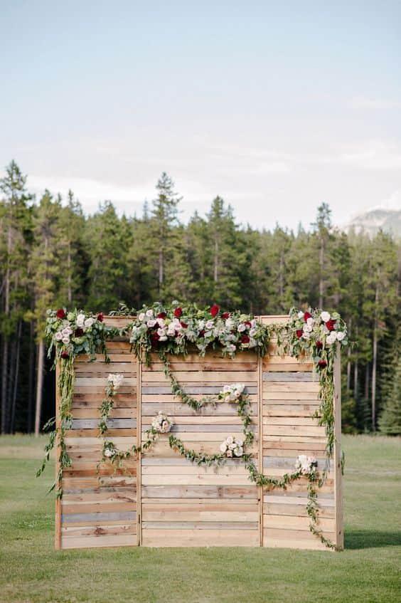 legno fiori