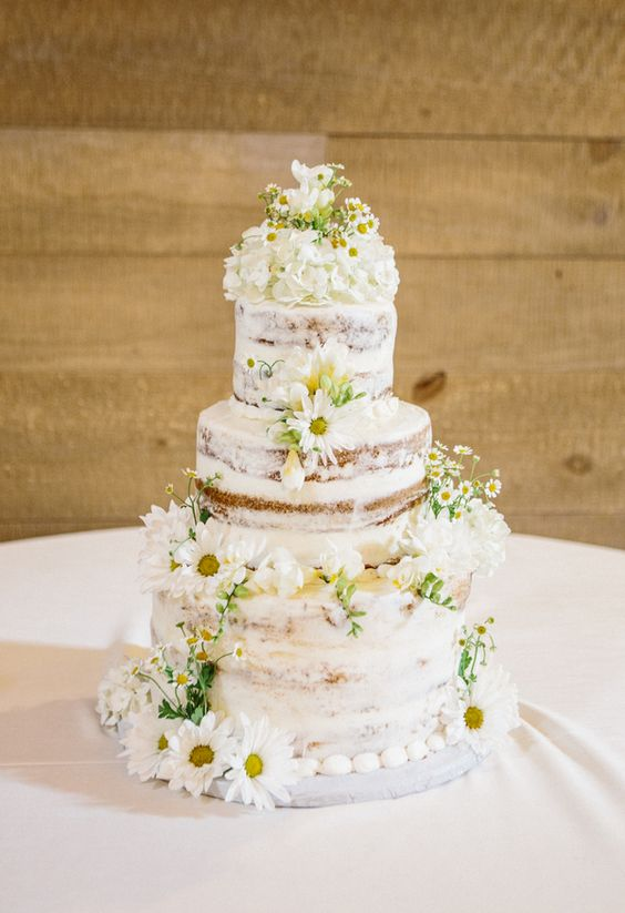 naked cake margherite