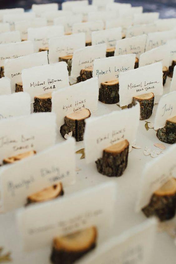 Favoloso Idee per usare il legno nel vostro matrimonio HK62