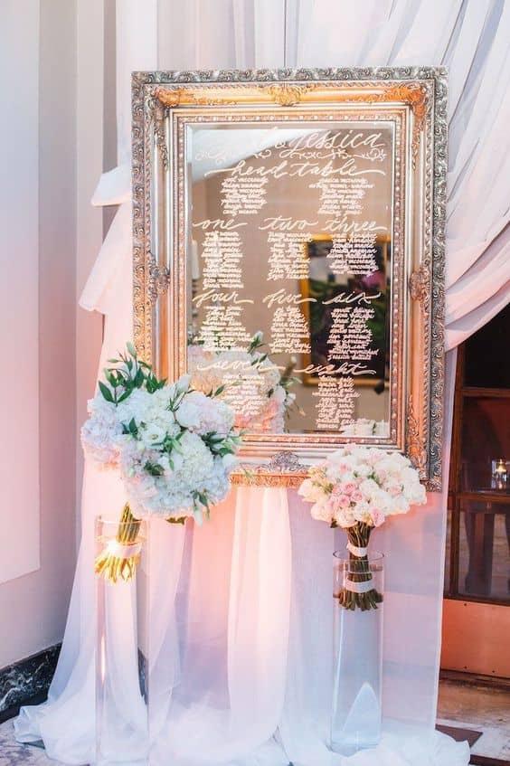 tableau matrimonio specchio