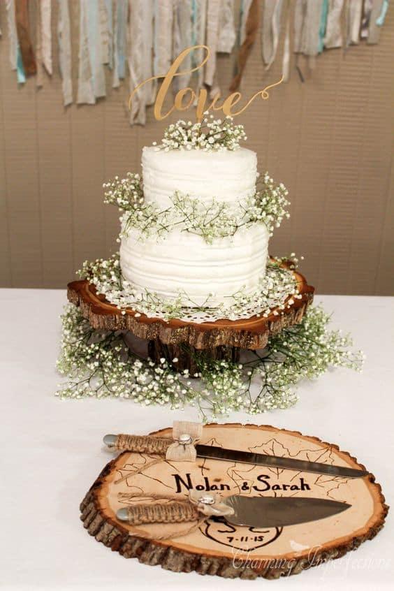 torta base legno