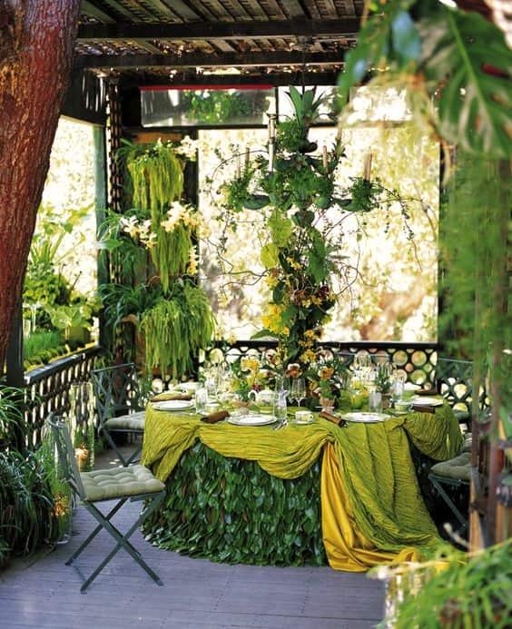 tavolo greenery