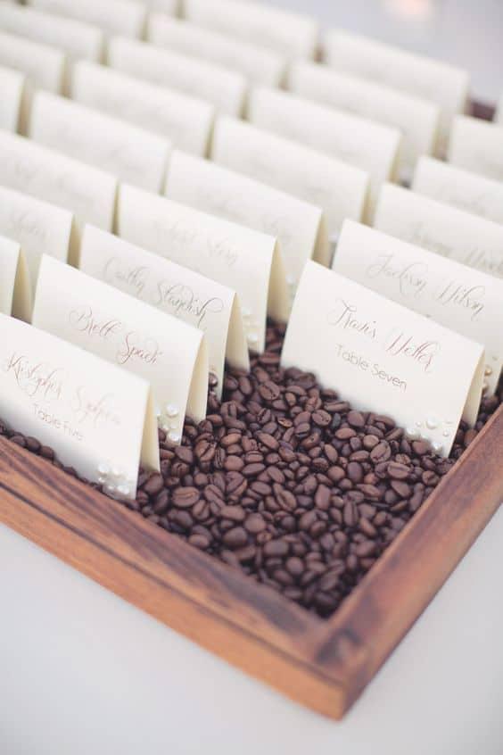 matrimonio a tema caffè
