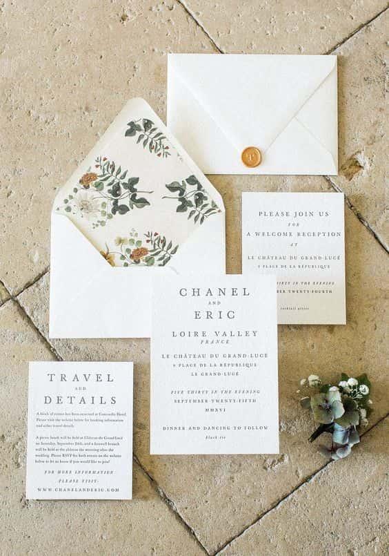 partecipazioni di nozze 2018