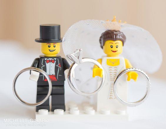 matrimonio tema lego