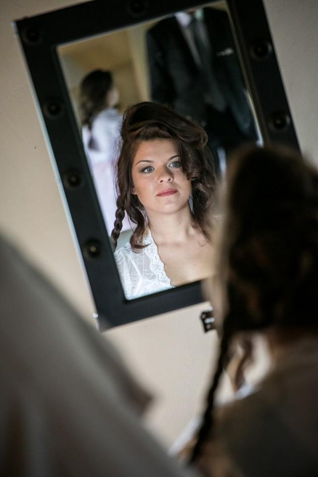 Silvia allo specchio