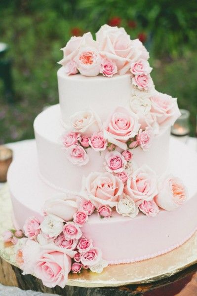 pink rose garden wedding cake matrimonio rosa quarzo il colore di tendenza 2016 18583