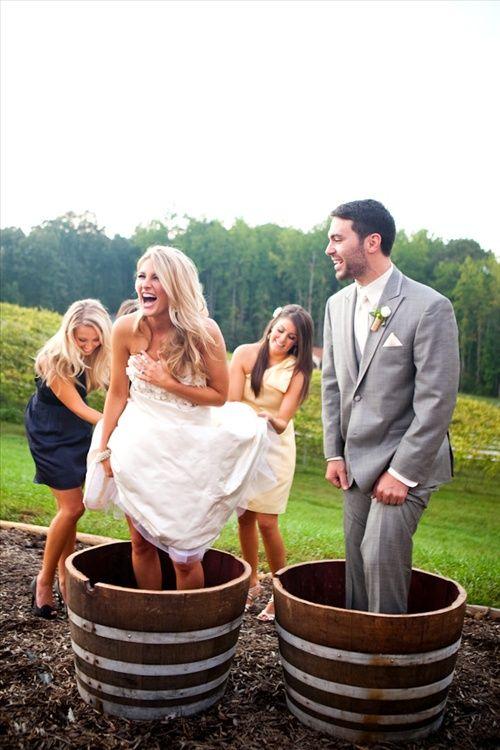 sposi e vendemmia