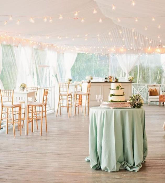 tavolo verde menta