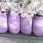 mason jars lavanda