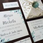 partecipazione matrimonio botanica