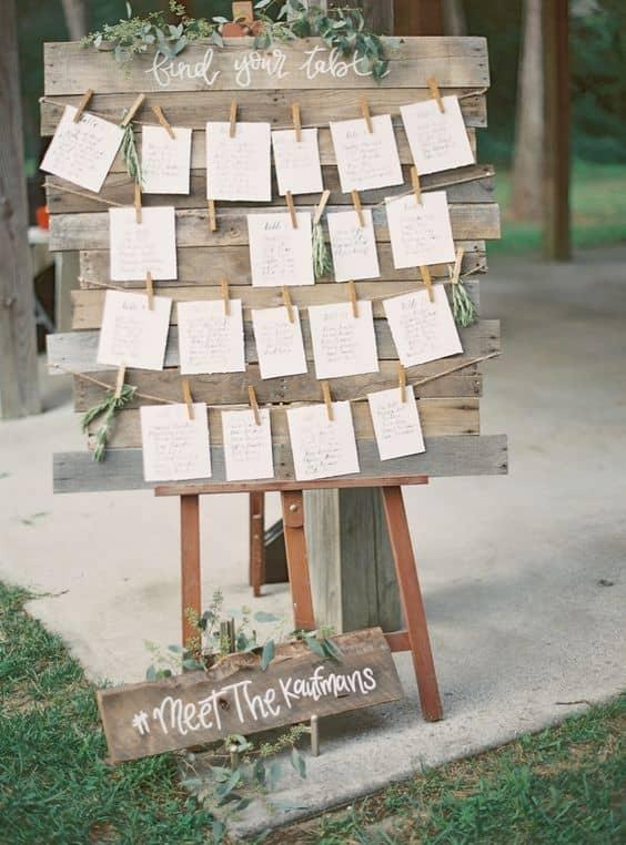 tableau de mariage matrimonio