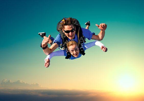 lancio paracadute tandem