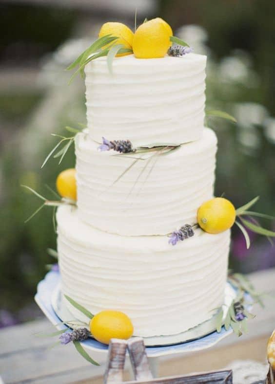 torta nuziale limoni
