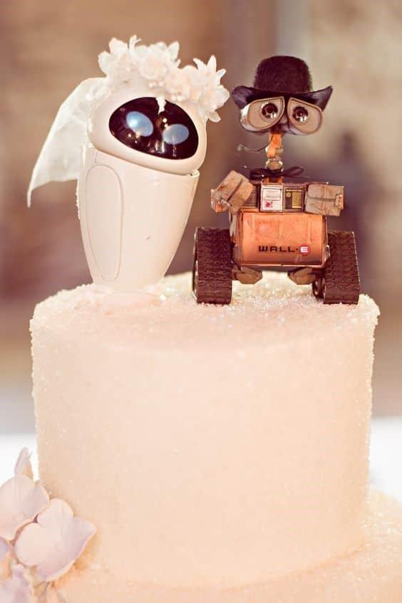 torta nuziale cinema